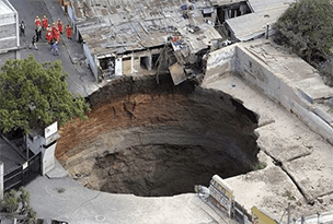 Debt is exactly the same as a bottomless sinkhole.