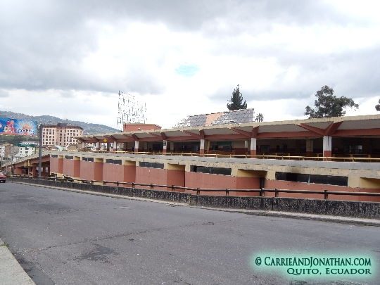Terminal Terrestre in Quito, CLOSED
