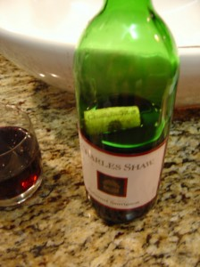 We brought two-buck-chuck (Charles Shaw wine) with us to Tahiti
