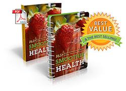The book cover for Smoothie Recipes for Optimum Health